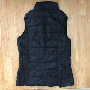 Black vest, Patagonia nano vest dupe